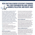 Shining the Light on New Proposed Light Bulb Energy Efficiency Standards
