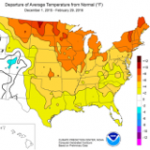 Strong El Niño Helps Reduce U.S. Winter Heating Demand and Fuel Prices
