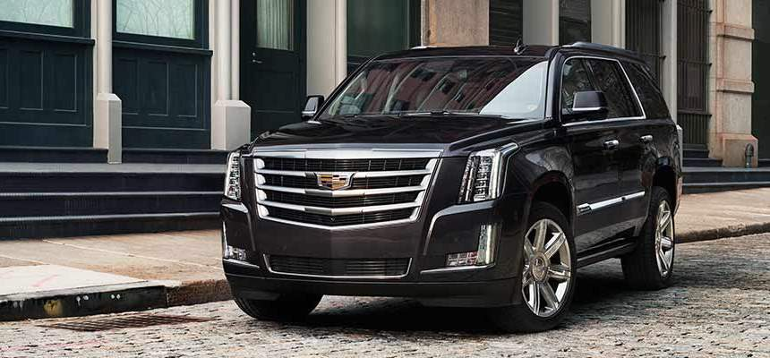 As black as coal on wheels: General Motors 2016 Cadillac Escalade
