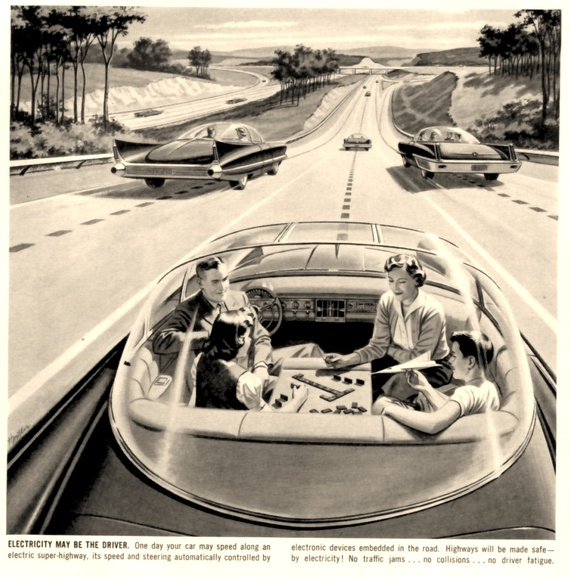 1964 idea of autonomous driving