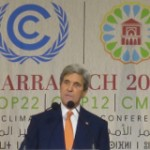 "John Kerry Tells Marrakech Climate Talks Coal Investment Is ""Suicide"" As U.S. Delegation Ducks Fossil Fuel Influence Questions"
