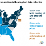 Residential Heating Oil and Propane Prices at Levels Similar to Last Winter's Low Prices