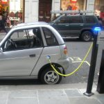 Comparison of Energy Efficiency and CO2 of Gasoline and Electric Vehicles