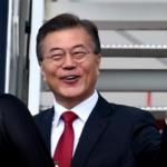 Moon Jae-in Making Friends By Promising To Buy More Gas