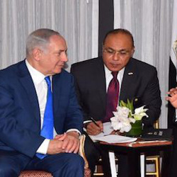 Egypt President al-Sisi speaks with Israel PM Netanyahu ahead of the UN General Assembly