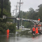 Boosting Power Grid Resilience with Pre-Storm Community Planning and Business Investments