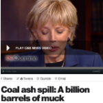 60 Minutes on Coal Ash: Muted Outrage, Lots of Smiles and Nods