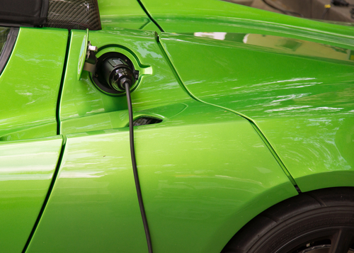 electric car green