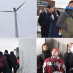 Students See Clean Energy in Action on IAP Wind Turbine Tour
