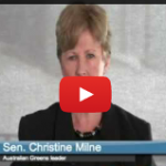 Australian Green Party's Christine Milne and Nuclear Cognitive Dissonance [VIDEO]