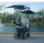 Solar Energy Powered Wheelchair Wins Competition