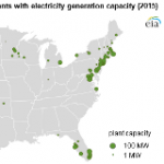 Waste-to-Energy Electricity Generation Concentrated in Florida and Northeast
