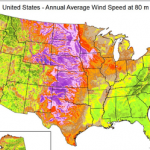 Wind Turbine Heights and Capacities Have Increased Over the Past Decade