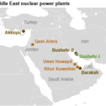 Middle East countries plan to add nuclear to their generation mix